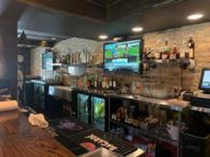 Route 41 Roadhouse Front Bar with plenty of TV's to watch any game.