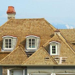 Residential Cedar Shake Roof