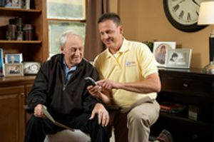 We provide options for 24-hour home care and part time home care
