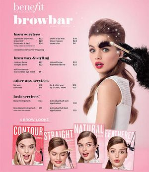 Image 10 | Benefit Cosmetics BrowBar Beauty Counter