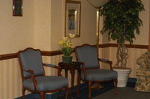 Waiting area at Renaissance Plastic Surgery