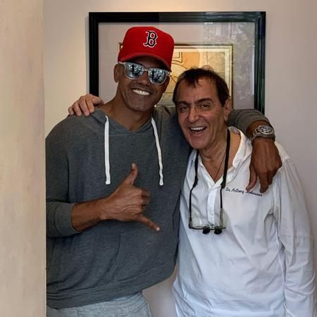 Dr Anthony Mobasser- Celebrity Dentist with Shemar Moore