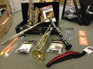 We buy, sell, trade and repair all band instruments!