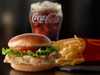 McDonald's Artisan Grilled Chicken Sandwich Extra Value Meal