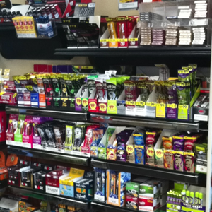 HUGE selection of Cigarillos, Papers, Flavored Papers and more!