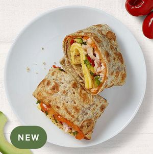 NEW! Chipotle Chicken, Scrambled Egg & Avocado Breakfast Wrap