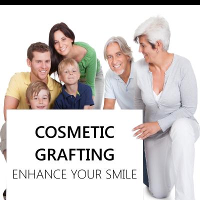 Cosmetic grafting