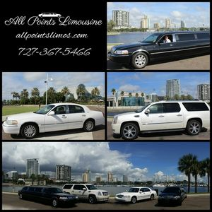 Concert Limo Rental Chauffeur Transportation Saint Petersburg  Tampa Bay Area