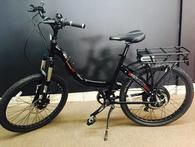 Electric bike rental available