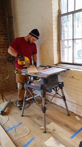 Certified by the National Wood Flooring Association, we install unfinished and pre-finished solid and engineered hardwood. Whether it's locally milled reclaimed pine or imported French white oak, each client's installation is handled with the utmost care and craftsmanship.