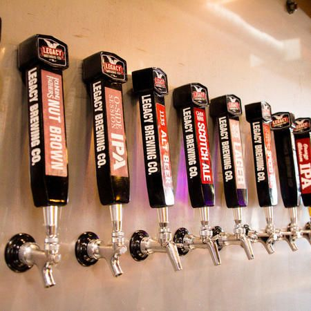 We provide a large assortment of quality draft beers that are brewed and created with passion and heart.