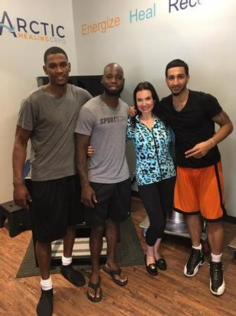 Professional athletes use cryotherapy to help them recover faster and train harder.