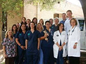 The team at VCA Capital Area Veterinary Specialists