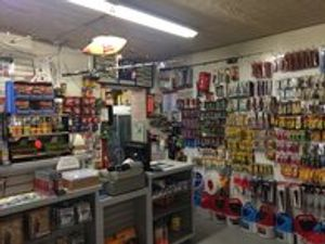 Large selection of bait and fishing tackle.