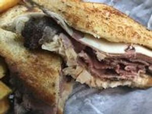 Our Tuesday Lunch Special: Reuben Sandwich!