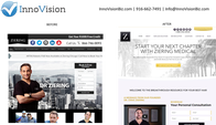 Ziering Medical web design by InnoVision in Sacramento