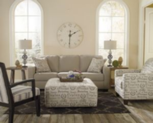Living room furniture rental.