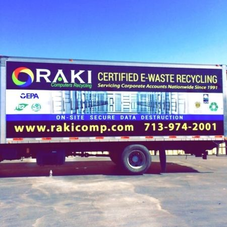 Schedule a pickup today to recycle your E-waste.