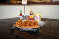 We are experts in poboy sandwiches, gumbo, Patent paties, crawfish, catfish, Boodan Balls, mac and cheese, shrimp, red beans and rice and we have the best beignets in Houston!