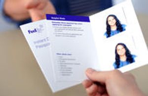 Get ready to travel with passport photos, conveniently taken and printed at a FedEx Office location near you, all for just $14.95.