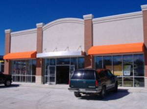 Commercial Business Awnings - aluminum, vinyl and canvas.