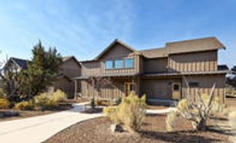 Two Story, Four Bedroom Cabin Exterior