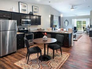 Grimes apartment rental by Redwood Living. Redwood Grimes single story pet friendly homes with eat in kitchens