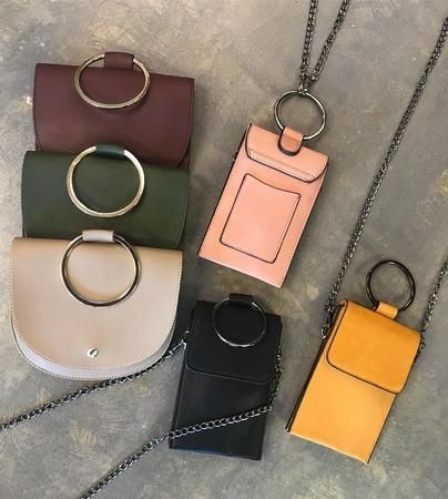 New crossbody bags and cellphone bags. Come and snag them before they're gone!