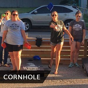 From our weekly and seasonal leagues to our weekend cornhole tournaments there are many options for you to choose from and enjoy some competition.