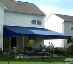 Most Awarded Awning Co.....A. Hoffman Awning in Baltimore     410-685-5687     A signature Hoffman Awning Patio awning.