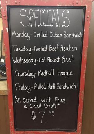 Our Famous Lunch Specials!