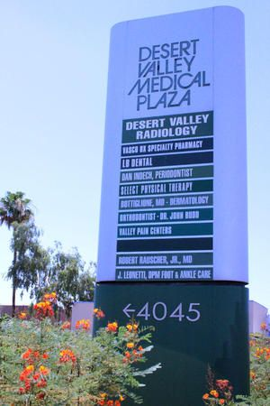 Located in Desert Valley Medical Plaza
