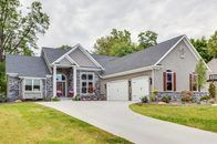 A newly completed ranch-style home!
