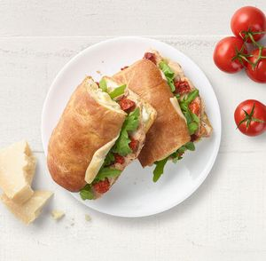NEW! Toasted Tuscan Grilled Chicken Sandwich