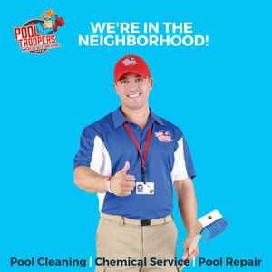 Pool Troopers Offers Pool Cleaning, Chemical Service, and Pool Repair!