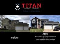 Protect your home and family from the elements, reduce energy costs, and add value to your property with siding installation services from the experienced crews at Titan Roofing & Exteriors.