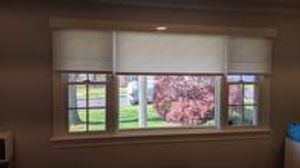 Printed roller shades can really make the room come alive!