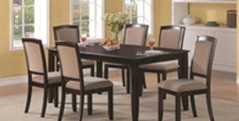 Dining room furniture rental.