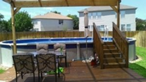 Browse our selection of above ground pools.