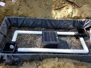 Stormwater filter system in Sudden Valley