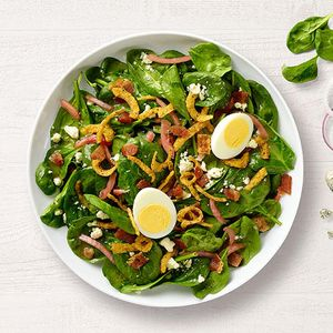 NEW! Spinach, Bacon and Poppyseed Salad