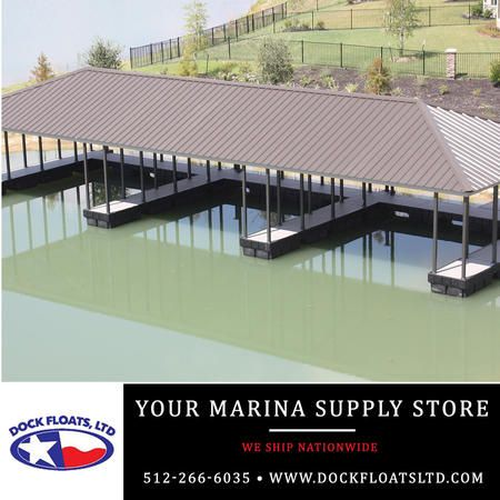 Marina supply store Austin, Texas. Contact Dock Floats Ltd in Austin for your FREE phone consultation: 512-266-6035