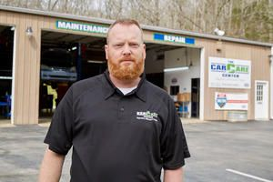 Our team is small but mighty. It's me, 3 technicians Dan, Kevin and Matt, and 1 service advisor Daniel. We have 5 bays, 5 lifts, and the latest tools and technology on hand. Keeping with Paul Smit Sr.'s goal of integrity in automotive repairs, we are dedicated to changing the way our customers feel about taking their car to the shop. We never suggest repairs you don't need, and we always take the time to listen to your concerns - and explain your repairs in a way that makes sense. We treat you like a dear friend and have fun with you along the way. We have fun with one another too and keep things light by cutting up. Not to worry, as our comradery never distracts from our attention to detail. We just love what we do and enjoy working together as a team! The Car Care Center is a proud member of our community who sponsors teams in almost every high school and middle schools in football, baseball, softball, and volleyball. We have also worked with The Ark to provide a vehicle to a local family who required sound transportation. Walk-ins are always welcome, or you can call ahead to schedule your repair!