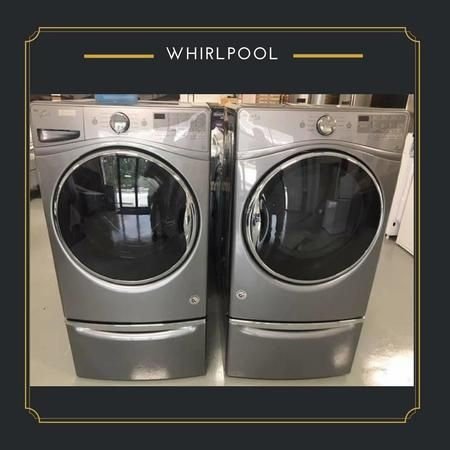 We have numerous Whirpool options to choose from!
