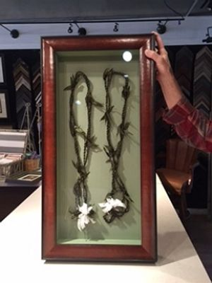 Bring your items to Briarcliff Frame Shop in Atlanta for framing.