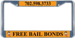 Receive a Free license plate cover.