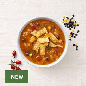 NEW! Southwest Chicken Tortilla Soup