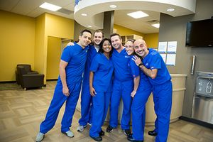 The Aspen Dental office team in Jacksonville, FL are happy to meet you now.
