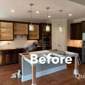 Taylor's Painting Company can transform your kitchen - before