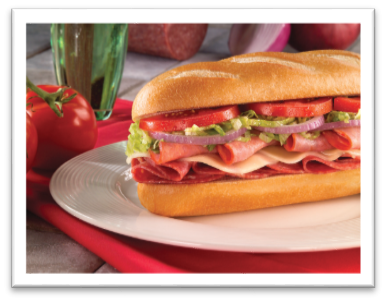 We also offer great subs, salads, and chicken wings and sides.